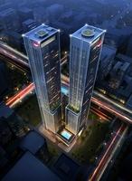 Skyscraper Office Building 006 3D Model