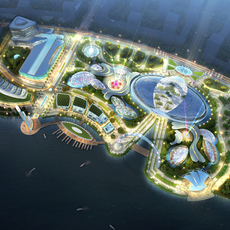 Amusement park 002 3D Model
