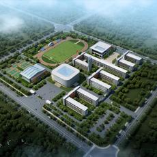 School buildings 003 3D Model