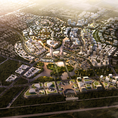 City Planning 028 3D Model