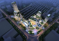 City shopping mall 014 3D Model
