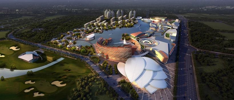 City shopping mall 022 3D Model