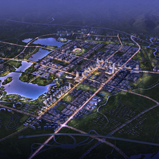 City Planning 052 3D Model