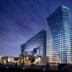 City shopping mall 051 3D Model