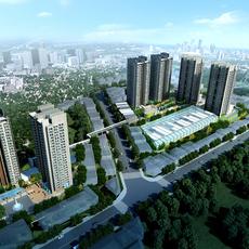 Commercial Plaza 018 3D Model