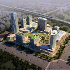 Commercial Plaza 024 3D Model