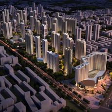 Commercial Plaza 036 3D Model