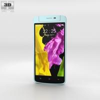 Oppo N1 mini Light Blue 3D Model