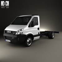 Iveco Daily Single Cab Chassis L1 2011 3D Model