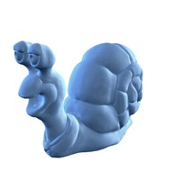 Hi-poly snail sculpt 3D Model