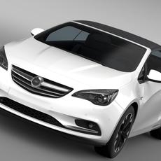 Opel Cascada 2016 3D Model