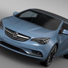 Opel Cascada Turbo 2016 3D Model