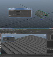 roofTilesBuilder 1.0.0 for Maya (maya script)