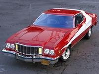 Ford Gran Torino 1974 3D Model