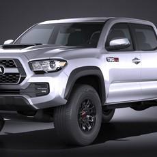 Toyota Tacoma TRD Pro 2017 3D Model
