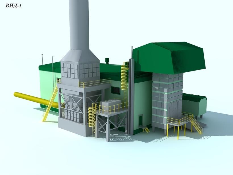 Building industry 3D Model