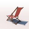 20 42 22 460 deck chair red 03 4
