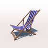 20 42 42 35 deck chair blue weathered 02 4