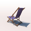 20 42 42 804 deck chair blue weathered 03 4