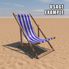 20 42 43 571 deck chair blue weathered usage 4
