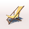 20 43 13 411 deck chair yellow 02 4