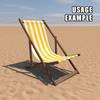 20 43 15 129 deck chair yellow usage 4