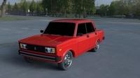 Lada Nova Riva HDRI 3D Model
