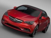 Vauxhall Cascada 2016 3D Model