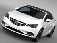Vauxhall Cascada Turbo 2016 3D Model