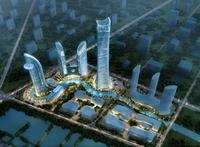 Skyscraper business center 019 3D Model