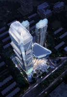 Skyscraper business center 006 3D Model