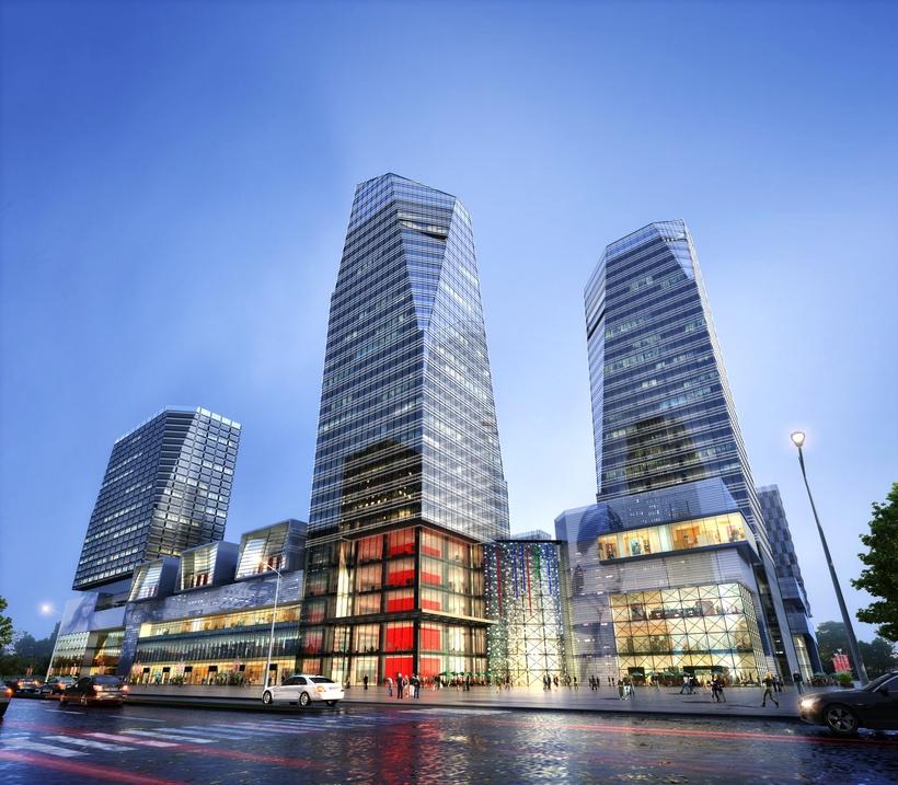 Skyscraper business center 029 3D Model