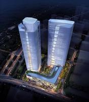 Skyscraper Office Building 019 3D Model