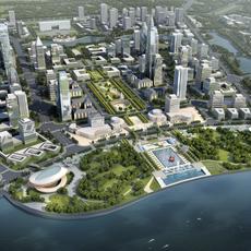 City Planning 011 3D Model
