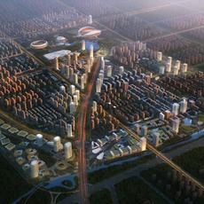City Planning 017 3D Model