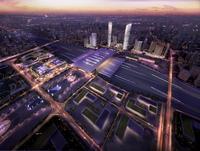 Railway terminal 006 3D Model
