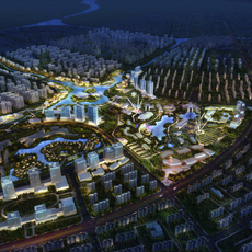 City Planning 051 3D Model