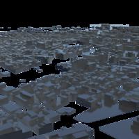 cityscape Cerignola 3D Model