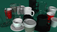 Free Coffee Cups Maker for Maya 1.0.0 (maya script)