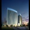 09 37 36 471 exterior office building scene 028 3 4