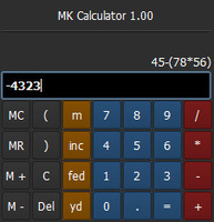Free MK_Calculator for Maya 1.0.0 (maya script)