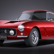 Ferrari 250 GT SWB Berlinetta 1953-1964 3D Model