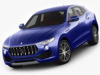 Maserati Levante 2017 3D Model