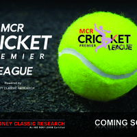 Mcr cricket league coming soon new cover