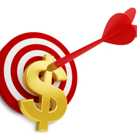 Target w dollar sign cover