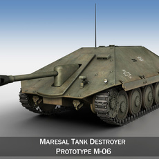Maresal M-06 - Romanian tank hunter 3D Model