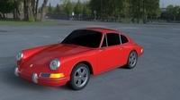 1965 Porsche 911 HDRI 3D Model