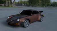 Porsche 911 930 HDRI 3D Model