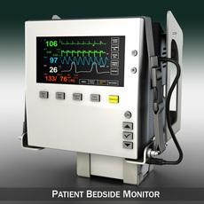Patient Monitor 3D Model
