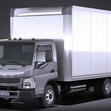 Mitsubishi Fuso BOX 2016 3D Model